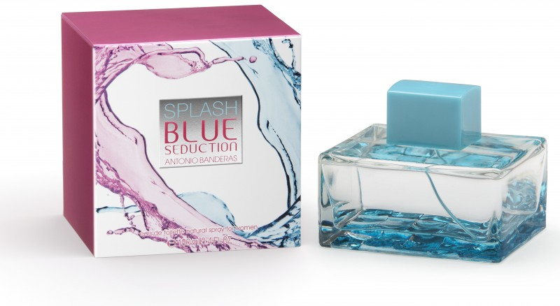 Splash blue seduction for women antonio banderas