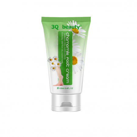 Крем для ног с экстрактом ромашки 3Q Beauty Foot Cream 100мл