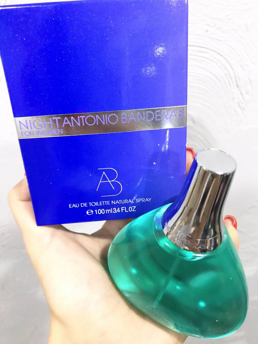 Antonio Banderas Night for Women EDT 100мл