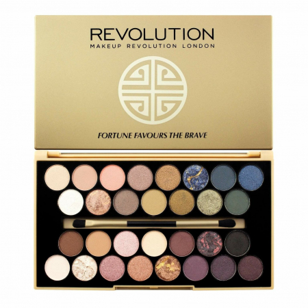 Тени для глаз Revolution Beauty Fortune Favours the Brave Palette