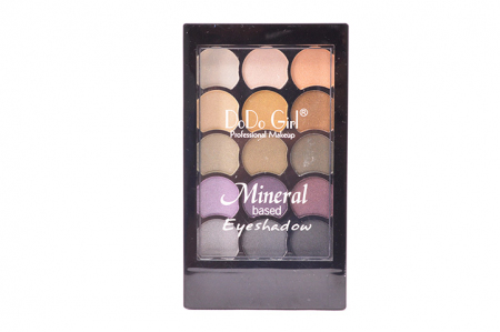 Тени для век Dodo Girl Mineral Based Eyeshadow тон 03