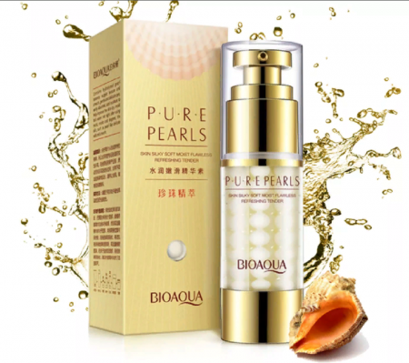 Крем для век Bioaqua Pure Pearls Eye Cream с жемчугом 25гр