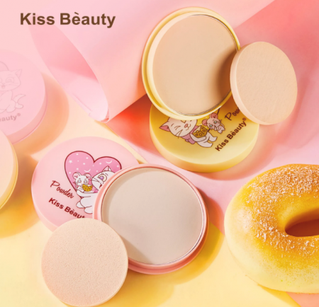 Пудра для лица Kiss Beauty Cheese Powder yellow тон 02