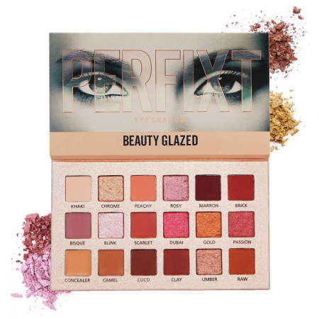 Тени для век Beauty Glazed Perfixt Perfect Mix Eyeshadow Palette